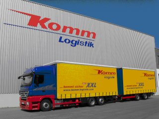 Jumbo drawbar combination trucks - Komm Logistik