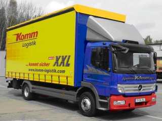 Short-distance transport lorry - Komm Logistik