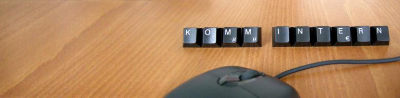 Banner KOMM INTERN